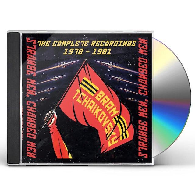 Bram Tchaikovsky STRANGE MEN CHANGED MEN: COMP RECORDINGS 1978-1981 CD