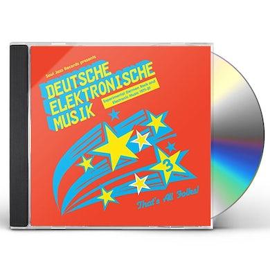 Soul Jazz Records Presents DEUTSCHE ELEKTRONISCHE MUSIK 3: EXPERIMENTAL CD