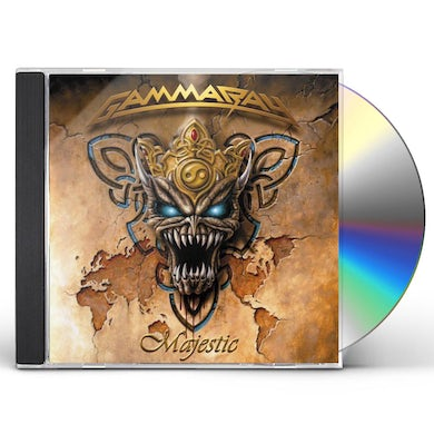 Gamma Ray MAJESTIC CD