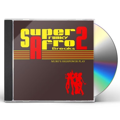 Dj Muro SUPER FUNKY AFRO BREAKS 2 CD