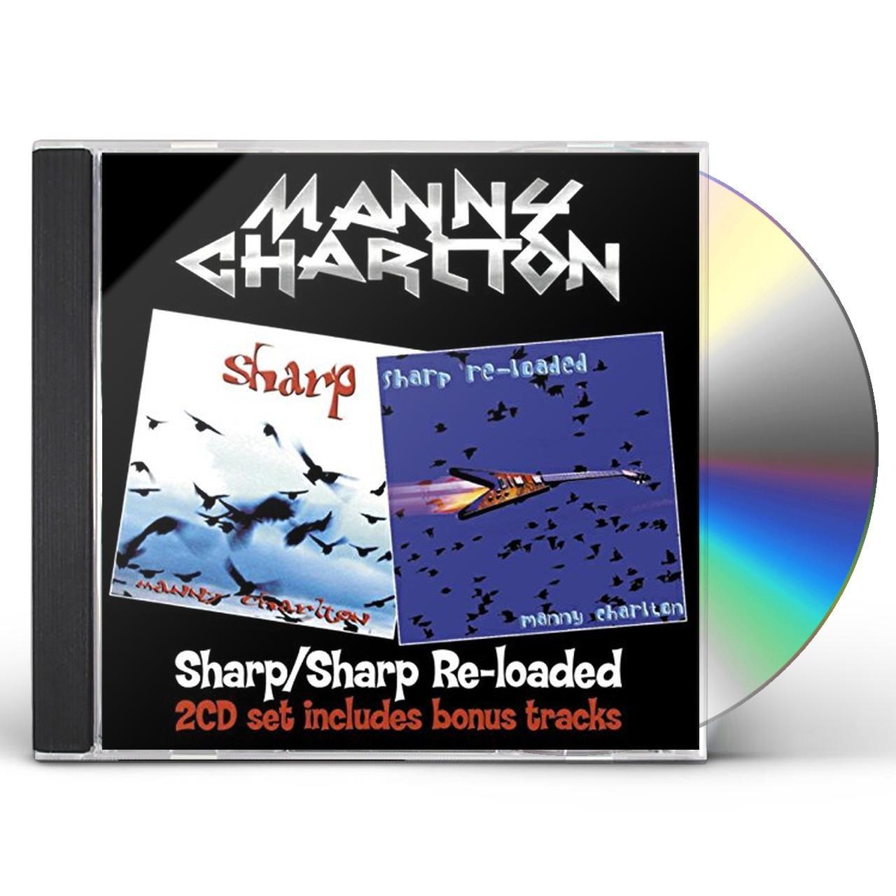 Manny Charlton SHARP/SHARP RE-LOADED CD