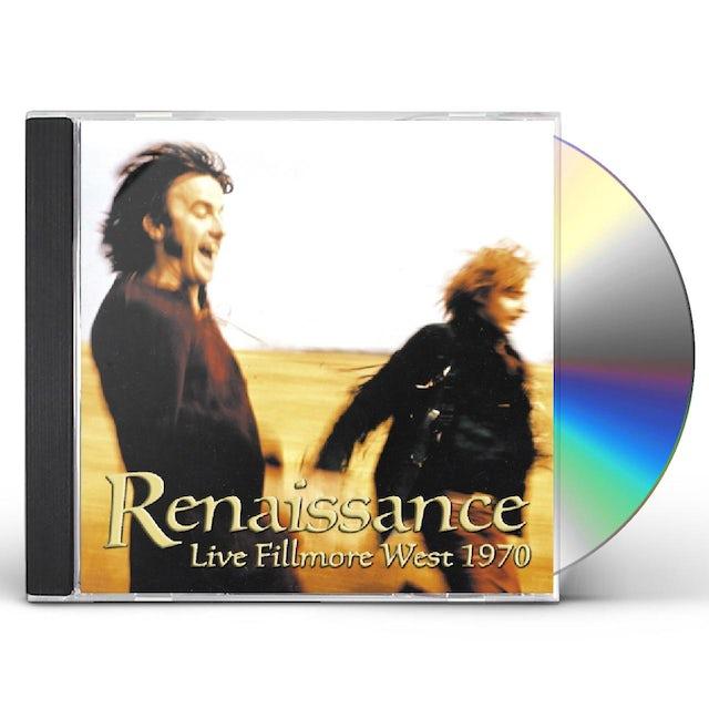 RENAISSANCE LIVE FILLMORE WEST 1970 CD