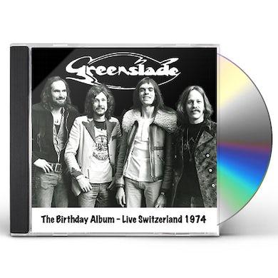 Greenslade BIRTHDAY ALBUM: LIVE SWITZERLAND 1974 CD