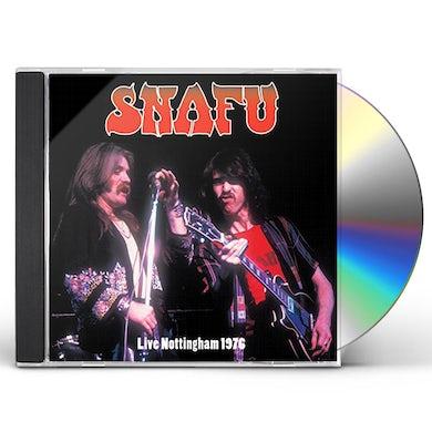 Snafu LIVE NOTTINGHAM 1976 CD