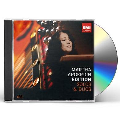 Martha Argerich ARGERICH: SOLOS & DUOS CD