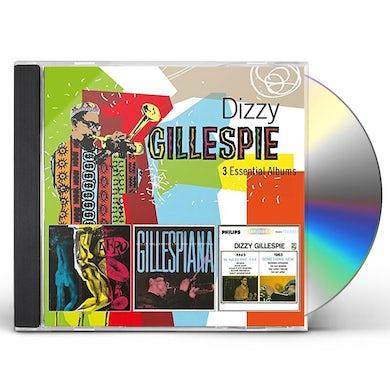 Dizzy Gillespie 3 ESSENTIAL ALBUMS CD