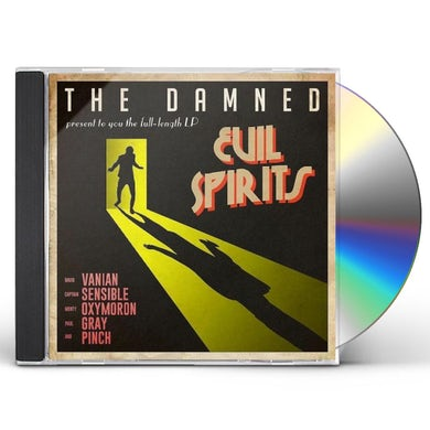 The Damned EVIL SPIRITS CD