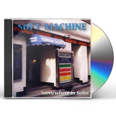 Soft Machine SOMEWHERE IN SOHO CD