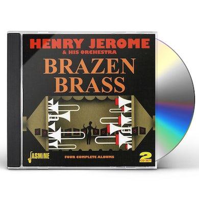 Henry Jerome BRAZEN BRASS CD