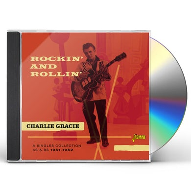 Charlie Gracie ROCKIN' & ROLLIN' 1951-62 CD
