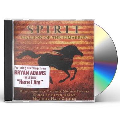 Soundtrack Spirit: Stallion Of The Cimarron (Adams/Zimmer) CD