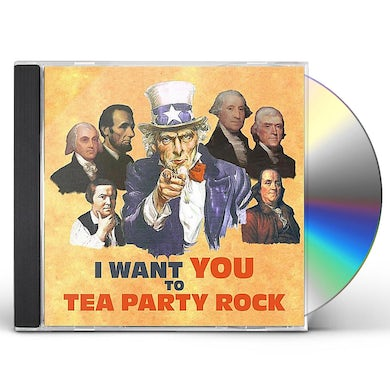 We The People TEA PARTY ROCK CD