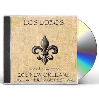 Los Lobos LIVE AT JAZZFEST 2016 CD