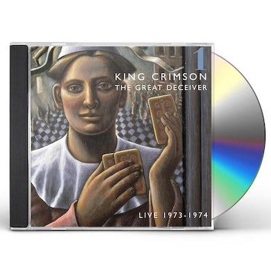 King Crimson GREAT DECEIVER 1 CD