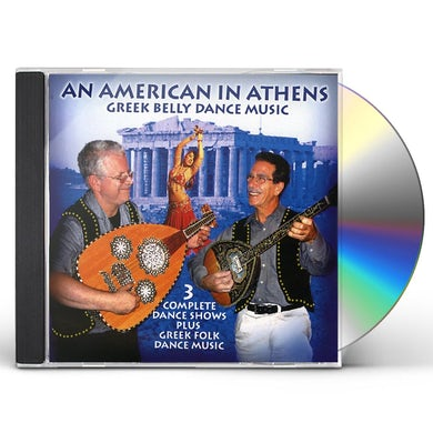 Scott Wilson AMERICAN IN ATHENS CD