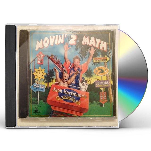 Jack Hartmann MOVIN' 2 MATH CD