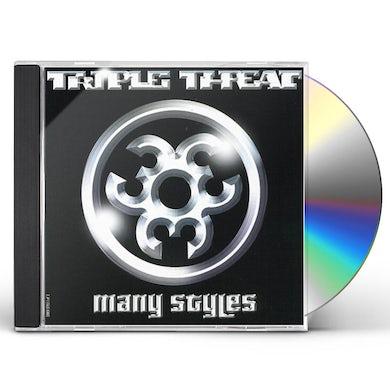 Triple Threat MANY STYLES CD