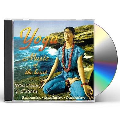 Wai Lana YOGA MUSIC OF THE HEART CD