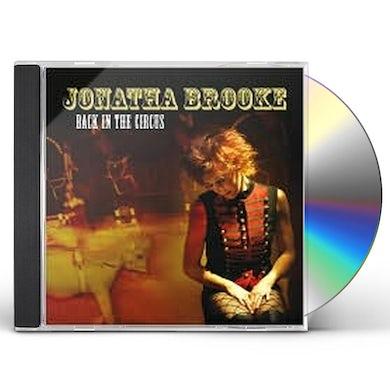 Jonatha Brooke BACK IN THE CIRCUS CD