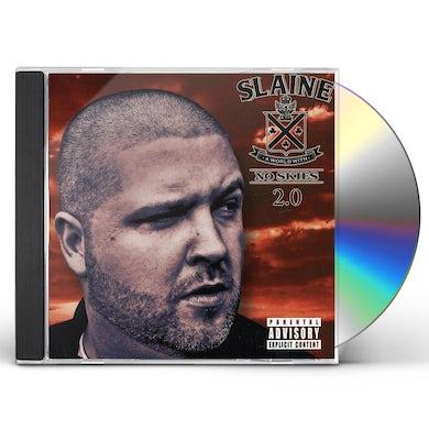 Slaine WORLD WITH NO SKIES 2.0 CD