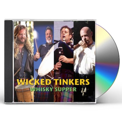 Wicked Tinkers WHISKY SUPPER CD