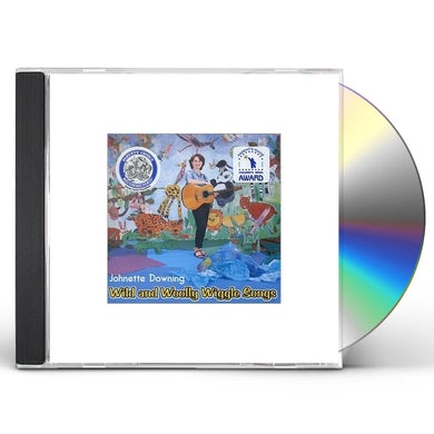 Johnette Downing WILD AND WOOLLY WIGGLE SONGS CD