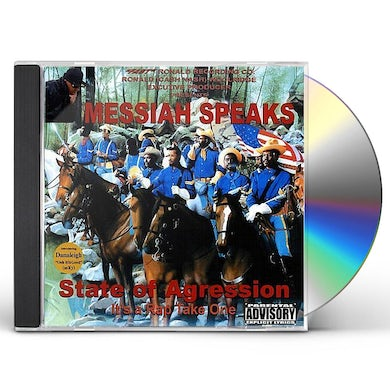 Messiah SPEAKS STATE OF AGRESSION CD