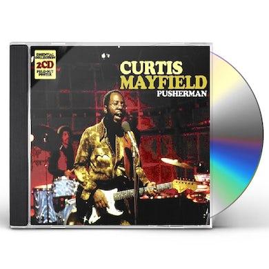 Curtis Mayfield PUSHERMAN CD