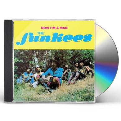 Funkees NOW I'M A MAN CD