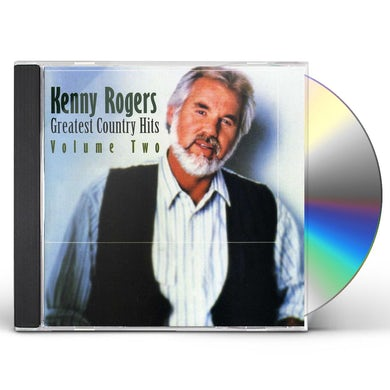 Kenny Rogers GREATEST COUNTRY HITS 2 CD
