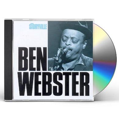 Ben Webster MASTERS OF JAZZ CD