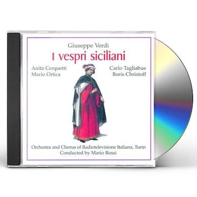 Verdi I VESPRI SICILIANI CD