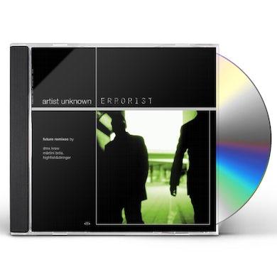 Artist Unknown ERRORIST & REMIXES CD