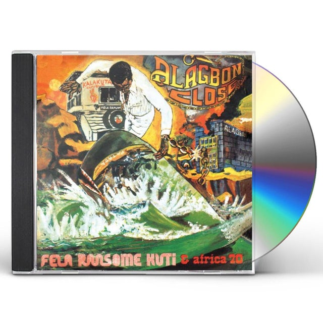 Fela Kuti ALAGBON CLOSE & WHY BLACK MAN DEY SUFFER CD