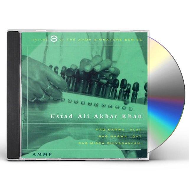 Ustad Ali Akbar Khan SIGNATURE SERIES 3 CD