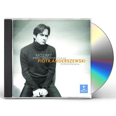 MOZART: PIANO CONCERTOS 21 & 24 CD