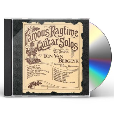 Famous Ragtime Guitar Solos CD