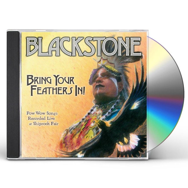 blackstone BRING YOUR FEATHERS IN CD