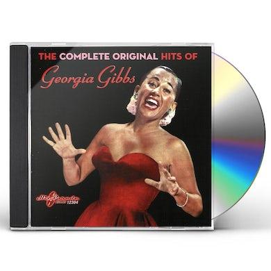 Georgia Gibbs COMPLETE ORIGINAL HITS CD