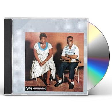 Ella Fitzgerald ELLA & LOUIS CD