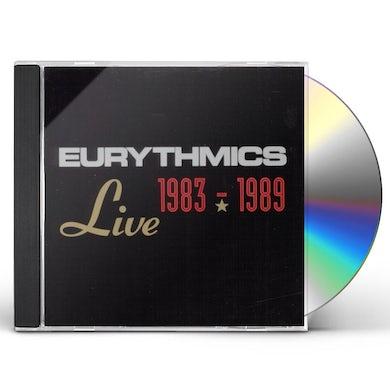 Eurythmics LIVE 1983-89 CD