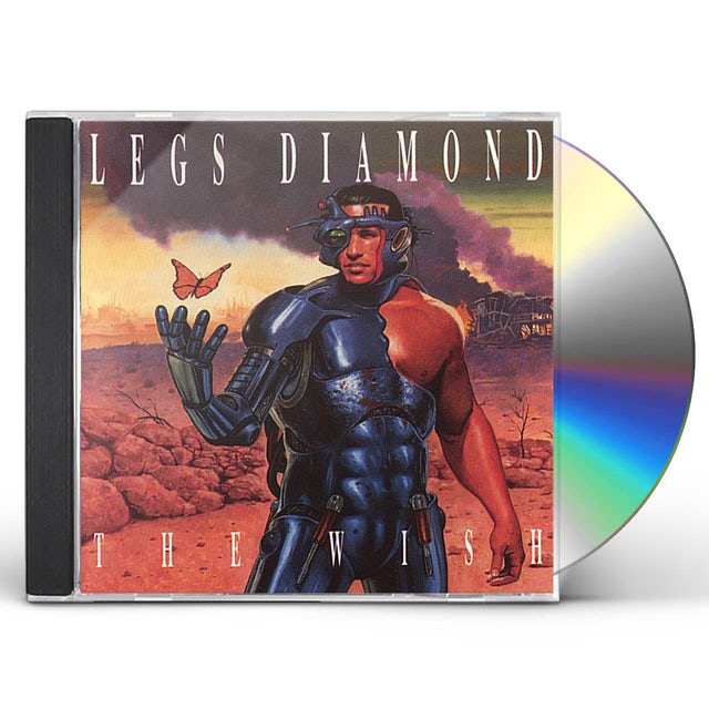 Legs Diamond WISH CD