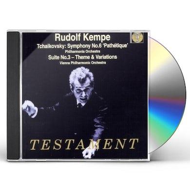 P.I. Tchaikovsky SYMPHONY NO.6 CD