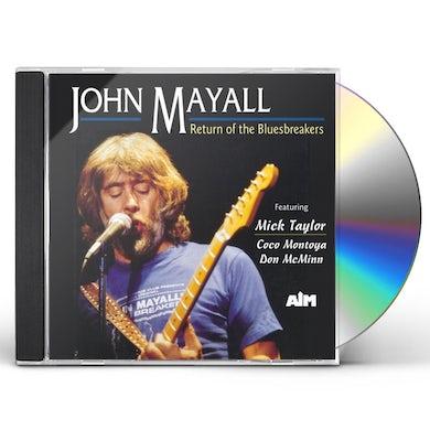 John Mayall RETURN OF THE BLUEBREAKERS CD