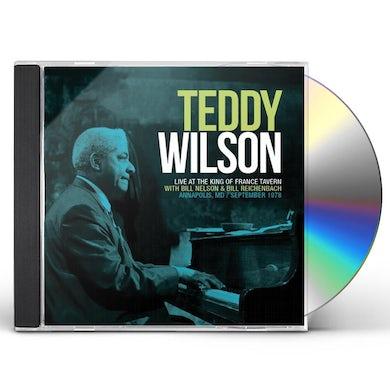 Teddy Wilson LIVE AT KING OF FRANCE TAVERN SEPTEMBER 1978 CD