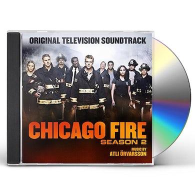 Atli Orvarsson CHICAGO FIRE SEASON 2 / TV Original Soundtrack CD