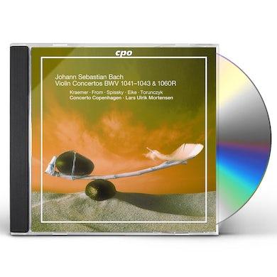 VIOLIN CONCERTOS BWV 1041-1043 CD