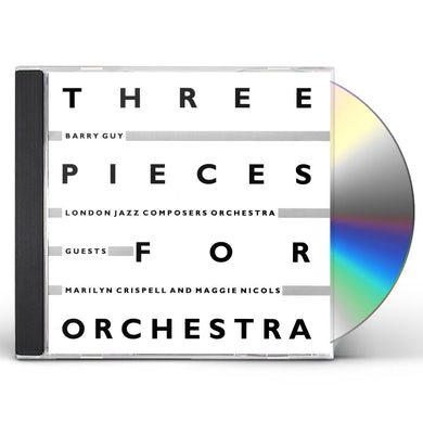 Barry Guy 3 PIECES FOR ORCHESTRA CD