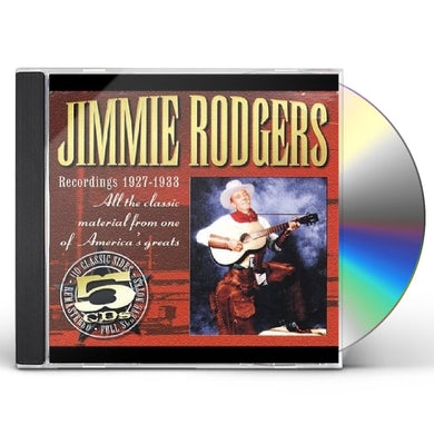 Jimmie Rodgers RECORDINGS 1927-1933 CD