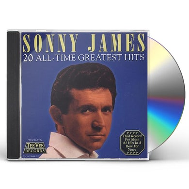 Sonny James 20 ALL TIME GREATEST HITS CD